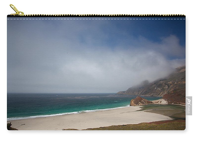 Big Sur Carry-all Pouch featuring the photograph Big Sur by Ralf Kaiser