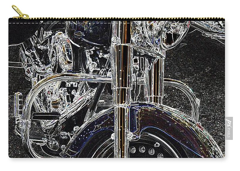 Motorcycle Carry-all Pouch featuring the photograph Big Willy Style by Anthony Wilkening