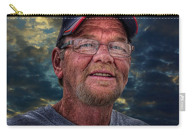 Xdop Carry-all Pouch featuring the photograph Bill by John Herzog