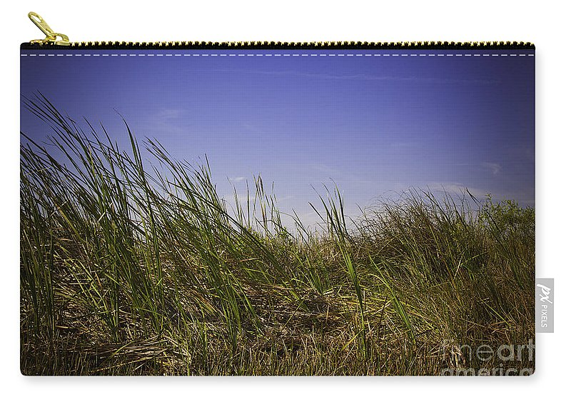 Grass Carry-all Pouch featuring the photograph Blades Of Grass by Madeline Ellis