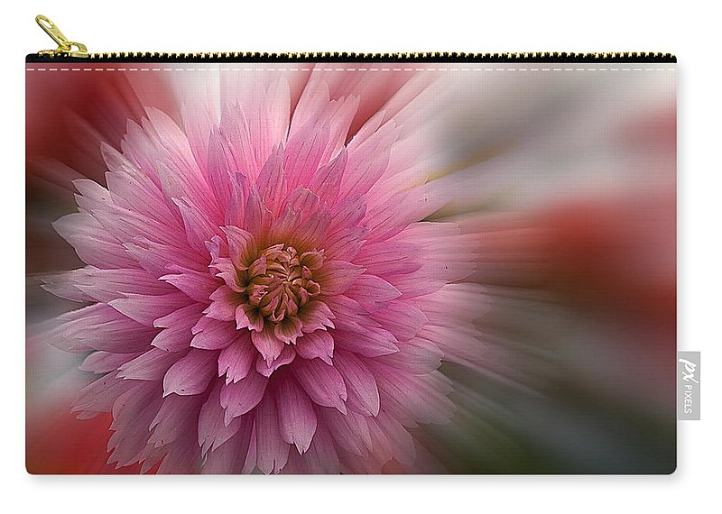 Color Carry-all Pouch featuring the photograph Blast Off by Jean Noren