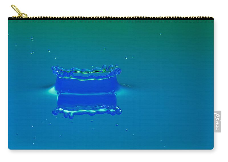 Impact Carry-all Pouch featuring the photograph Blue Lagoon by Nick Field