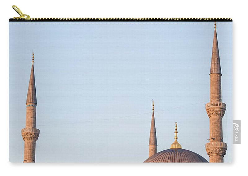 Mosque Carry-all Pouch featuring the photograph Blue Mosque In Istanbul by Artur Bogacki