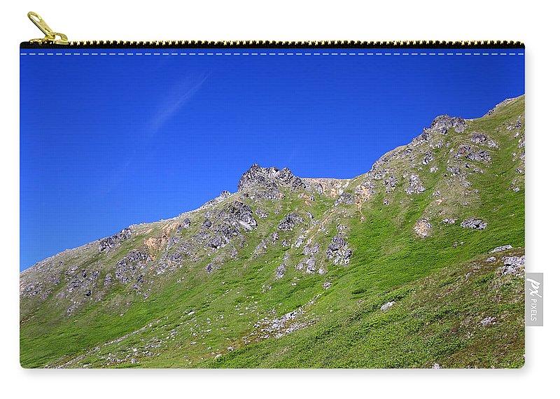 Doug Lloyd Carry-all Pouch featuring the photograph Blue Sky's by Doug Lloyd