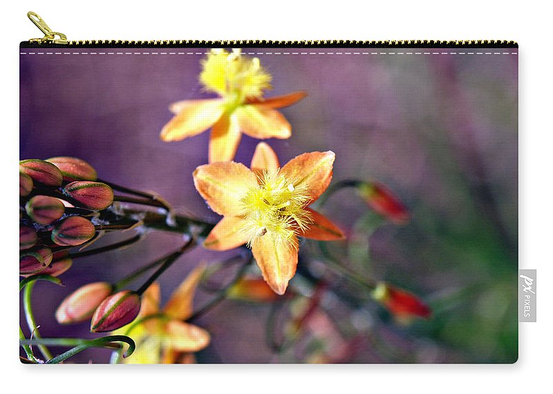 Flower Carry-all Pouch featuring the photograph Blushing by Bob Johnson