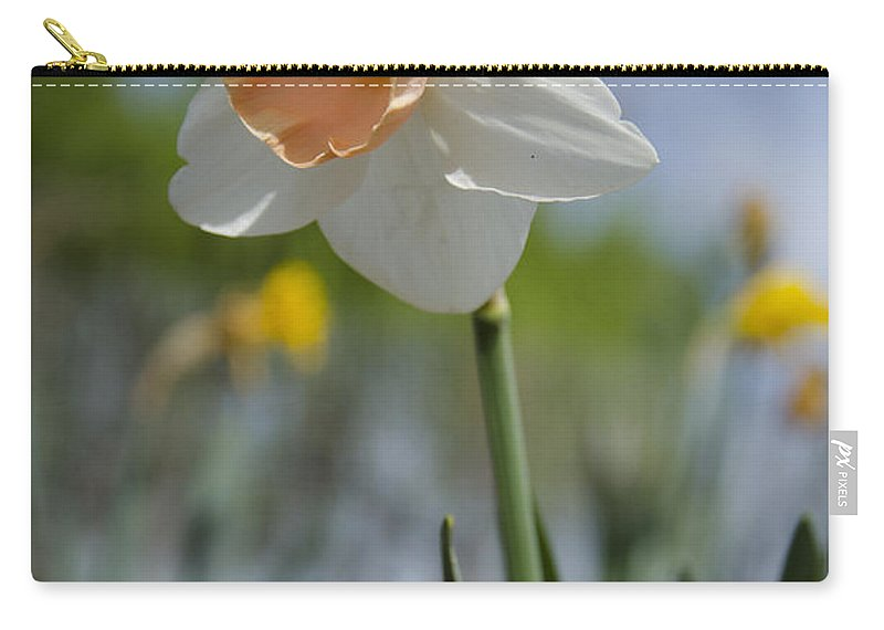Pink Carry-all Pouch featuring the photograph Blushing In The Garden by Jim And Emily Bush