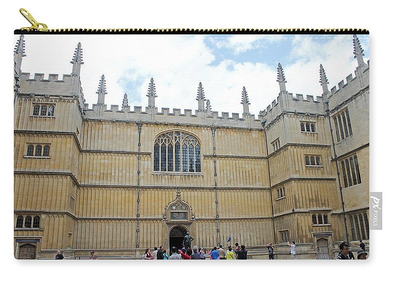 Oxford Carry-all Pouch featuring the photograph Bodleian Library by Tony Murtagh