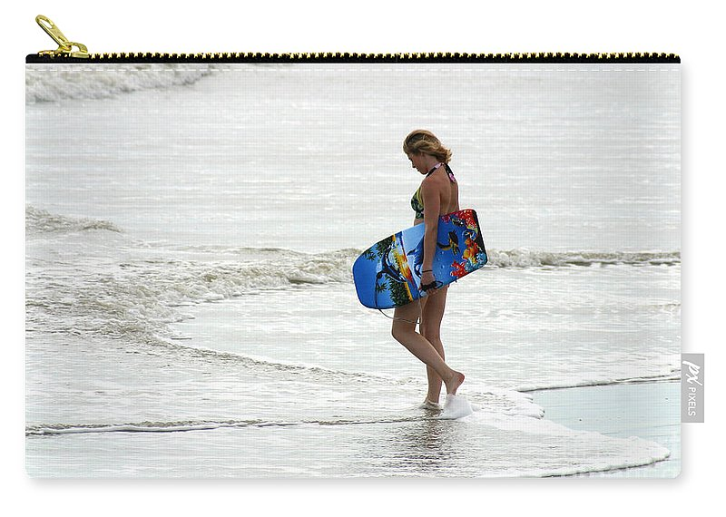 Gary Gingrich Carry-all Pouch featuring the photograph Boogie Board 0669b by Gary Gingrich Galleries