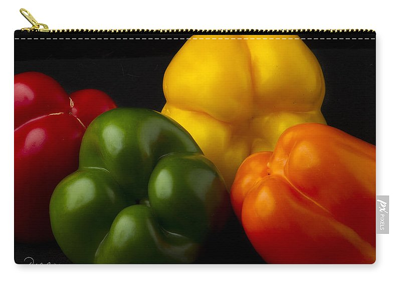 Fine Art Carry-all Pouch featuring the photograph Bottoms Up II by Frederic A Reinecke