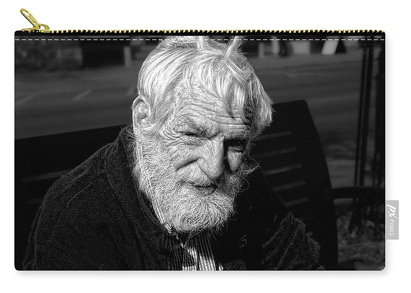 Acrylic Prints Carry-all Pouch featuring the photograph Bow On A Warm October Day by John Herzog