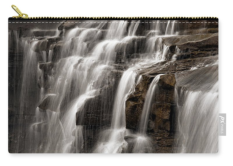 Water Carry-all Pouch featuring the photograph Brandywine Falls by Dale Kincaid