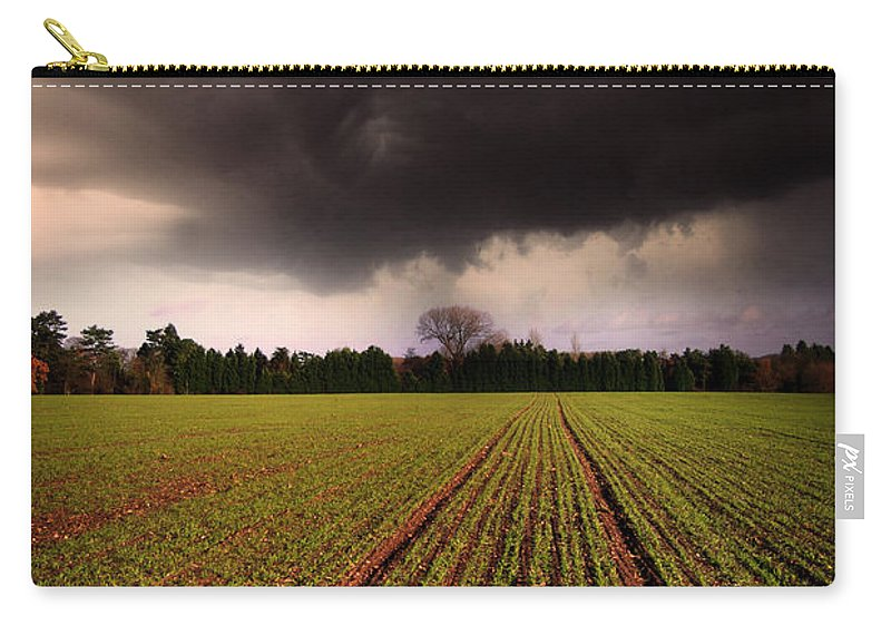 Yhun Suarez Carry-all Pouch featuring the photograph Breaking Loose by Yhun Suarez