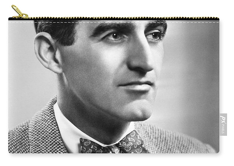 1950 Carry-all Pouch featuring the photograph Brendan Gill (1914-1997) by Granger