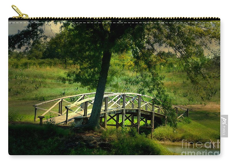 Landscape Carry-all Pouch featuring the photograph Bridge To Heaven by Peggy Franz