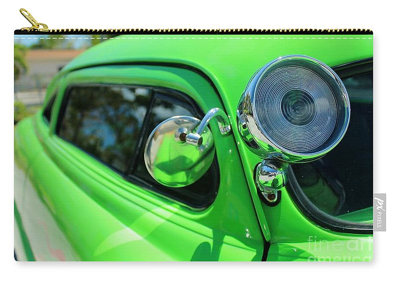 Car Carry-all Pouch featuring the photograph Bright Green by Rene Triay Photography