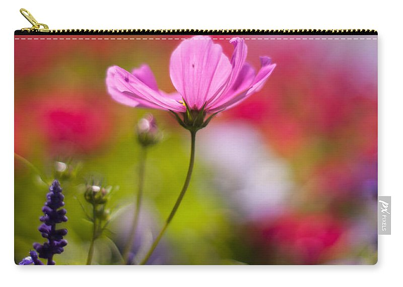 Flower Carry-all Pouch featuring the photograph Brilliant Petals by Mike Reid