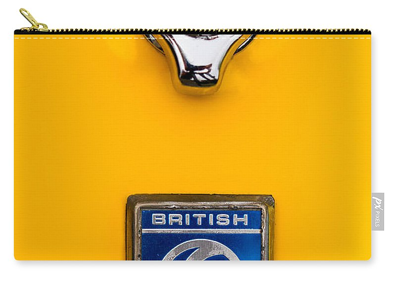 British Leyland Carry-all Pouch featuring the photograph British Leyland by Jerry Fornarotto