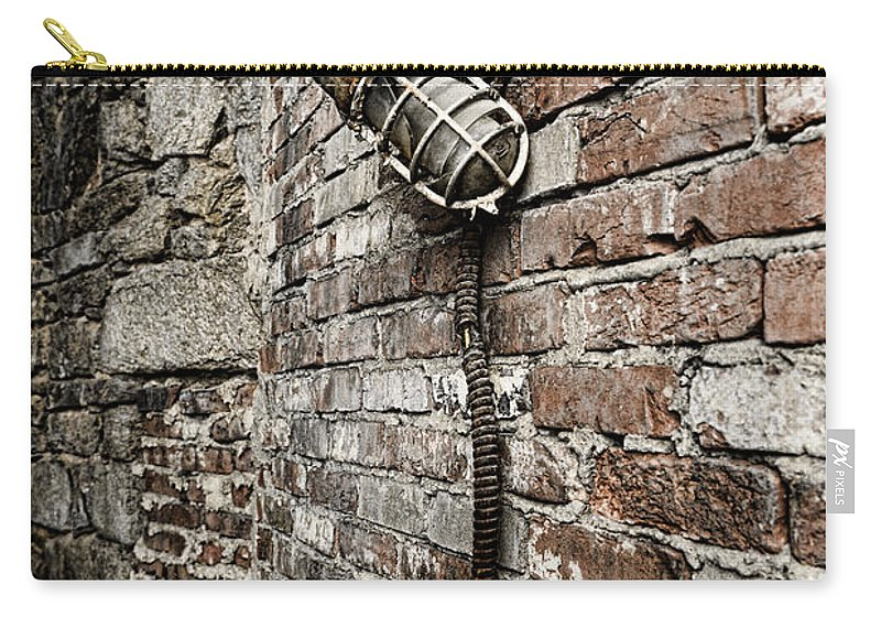 Urban Carry-all Pouch featuring the photograph Broken Promise by Paul Ward