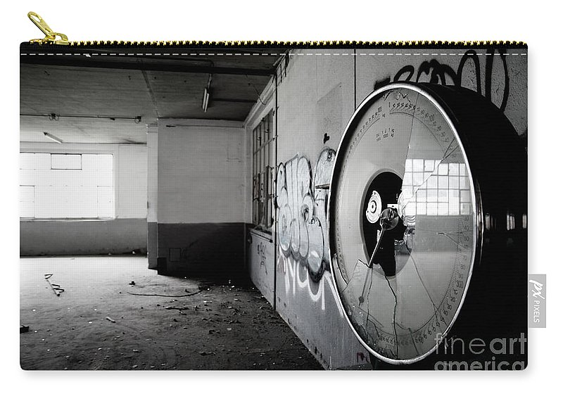 Factory Carry-all Pouch featuring the photograph Broken Weighing by Mats Silvan