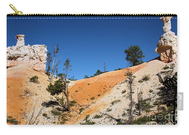 Bryce Canyon National Park Carry-all Pouch featuring the photograph Bryce Canyon Character by Adam Jewell