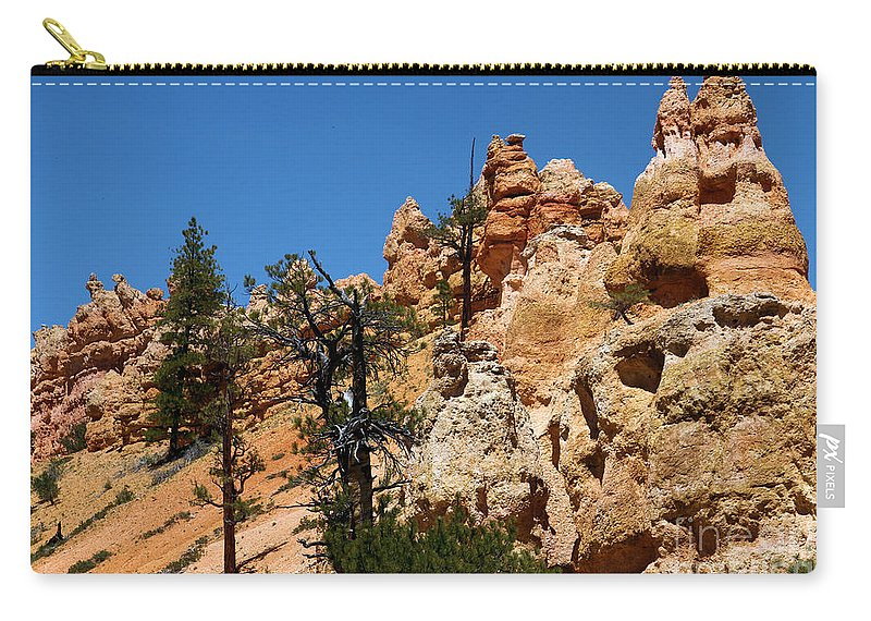 Bryce Canyon National Park Carry-all Pouch featuring the photograph Bryce Canyon Santa Clause by Adam Jewell