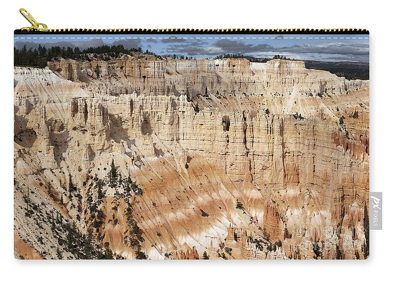 Sandra Bronstein Carry-all Pouch featuring the photograph Bryce Canyon Vista by Sandra Bronstein