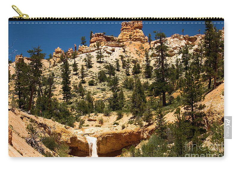 Bryce Canyon National Park Carry-all Pouch featuring the photograph Bryce Water Canyon by Adam Jewell