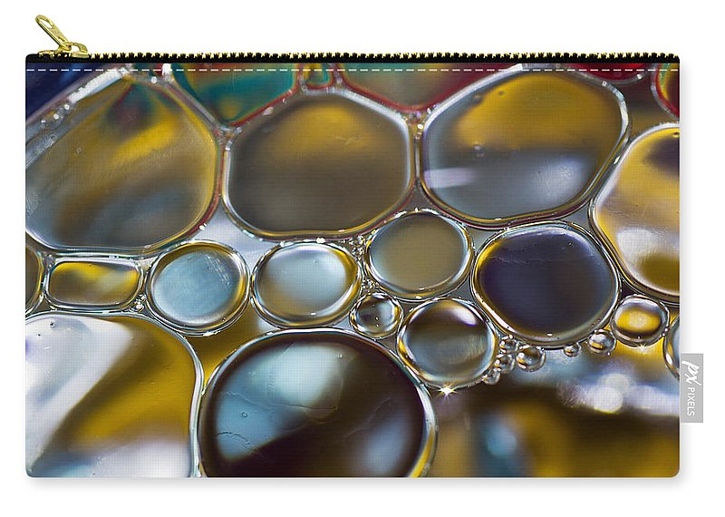 Bubbles Carry-all Pouch featuring the photograph Bubbles II by David Pringle