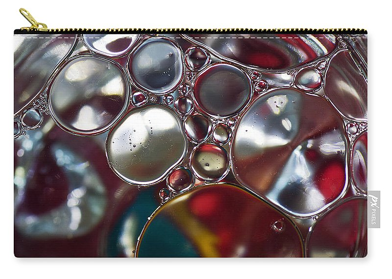 Bubbles Carry-all Pouch featuring the photograph Bubbles IIi by David Pringle