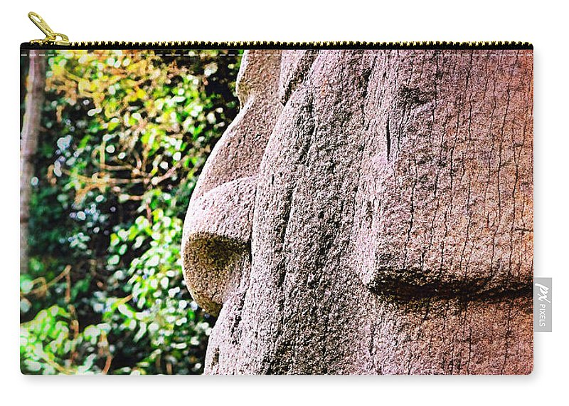 Buddha Nature Carry-all Pouch featuring the photograph Buddha Nature by Skip Hunt