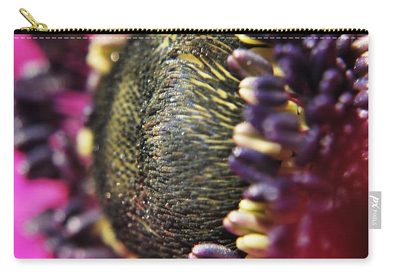 Yhun Suarez Carry-all Pouch featuring the photograph Bulb Flower by Yhun Suarez