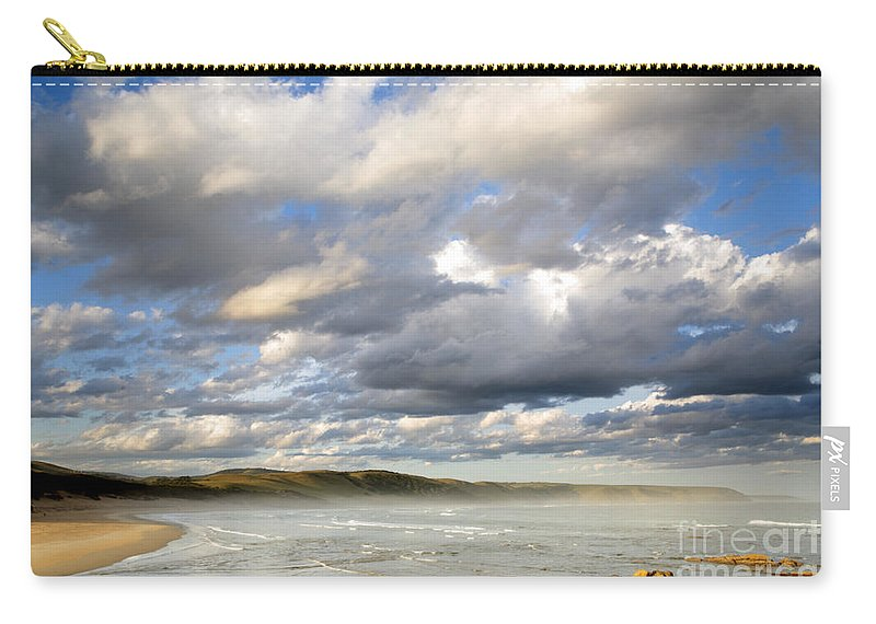 Bulungula Carry-all Pouch featuring the photograph Bulungula South Africa by Neil Overy