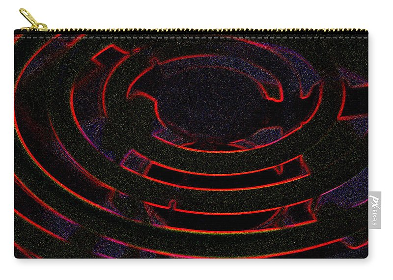 Burner Carry-all Pouch featuring the photograph Burner by Michael Merry