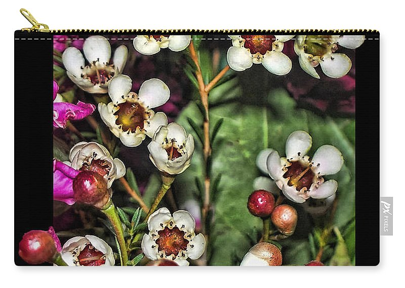 Nature Carry-all Pouch featuring the photograph Bustin Out by Debbie Portwood
