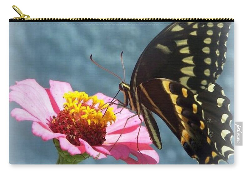 Butterfly Carry-all Pouch featuring the photograph Butterfly by Cynthia Amaral