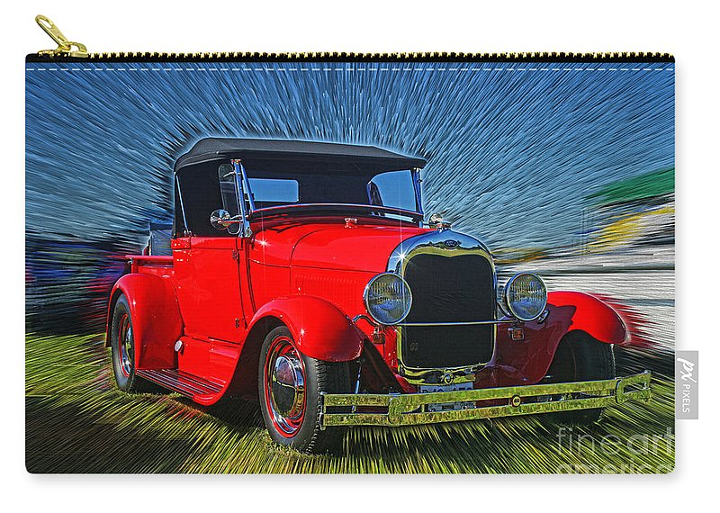 Cars Carry-all Pouch featuring the photograph Cadp0650-12 Hdr by Randy Harris