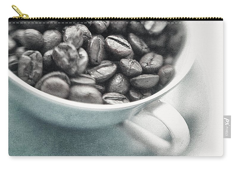 Caffeine Carry-all Pouch featuring the photograph Caffeine by Priska Wettstein