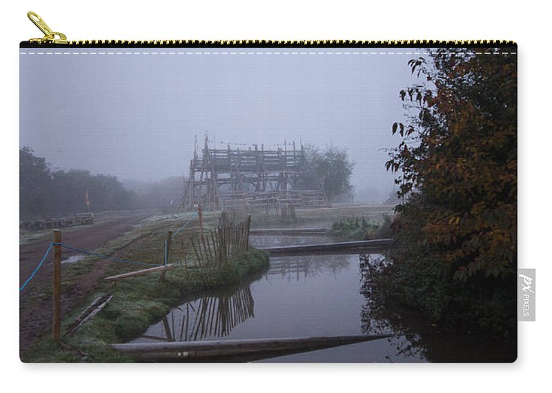 Mist Carry-all Pouch featuring the photograph Calm Waters by Dawn OConnor