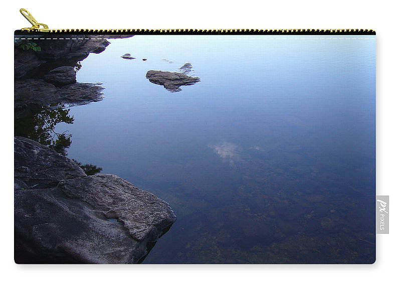 Calm Carry-all Pouch featuring the photograph Calm Waters by Shirley Radebach
