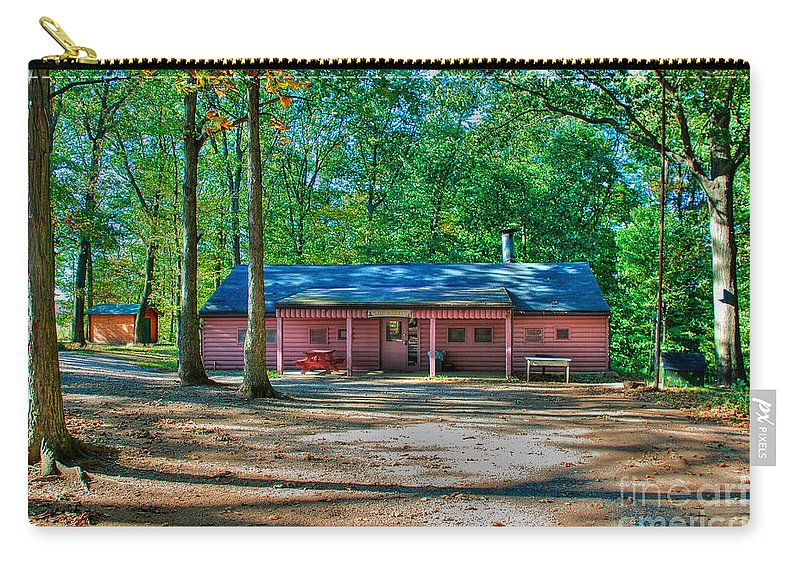 Tonemapped Carry-all Pouch featuring the photograph Camp Milton by Mark Dodd