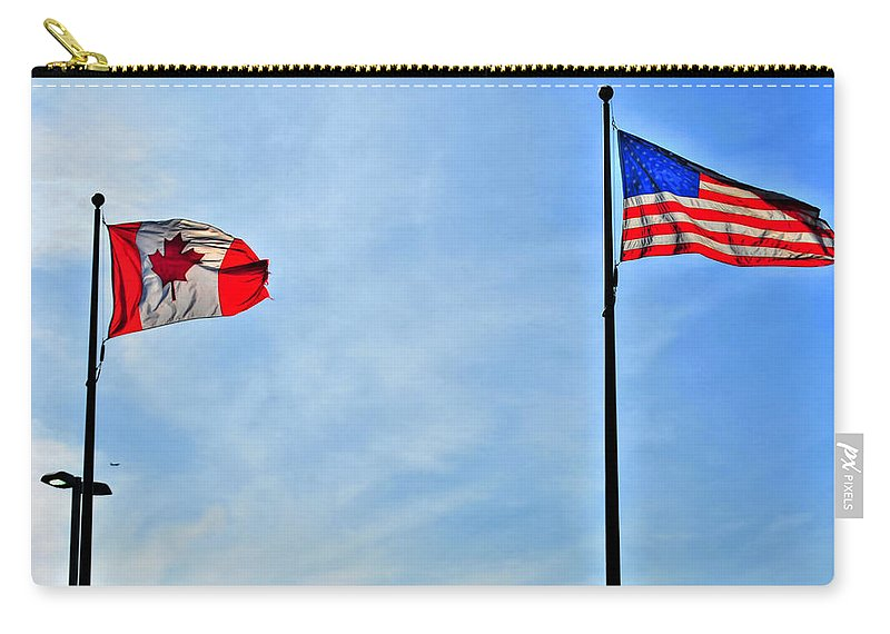 Carry-all Pouch featuring the photograph Can Usa by Michael Frank Jr