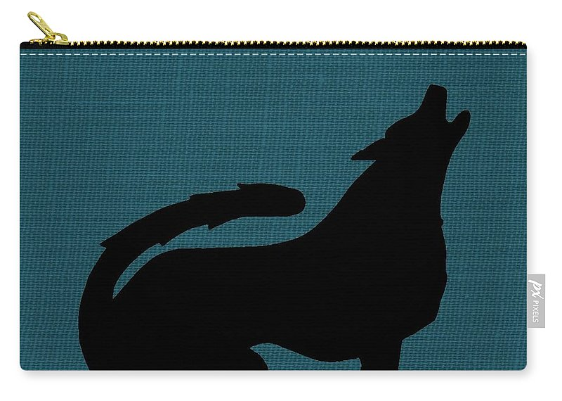 Nature Carry-all Pouch featuring the photograph Canine by Chris Berry