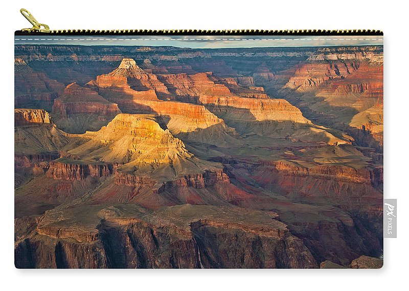 Grand Canyon Carry-all Pouch featuring the photograph Canyon View Ix by Jon Berghoff