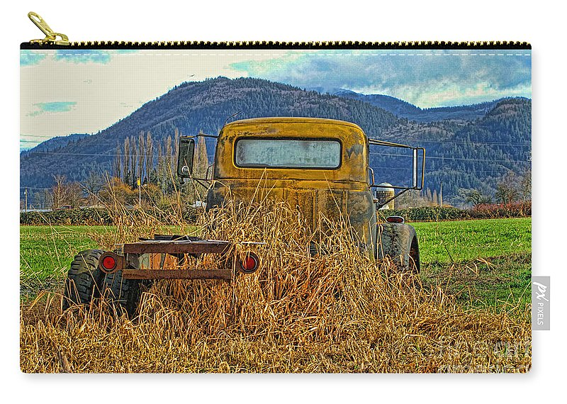 Trucks Carry-all Pouch featuring the photograph Caoc2007-08 by Randy Harris