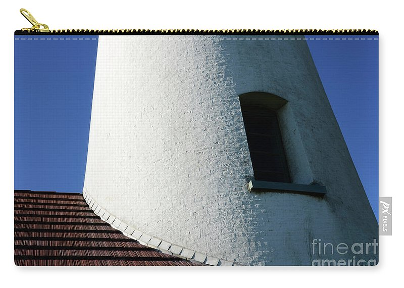 Pacific Ocean Carry-all Pouch featuring the photograph Cape Blanco Detail by Bob Christopher