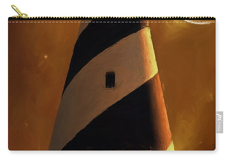 Cape Hatteras Carry-all Pouch featuring the photograph Cape Hatteras by Lourry Legarde