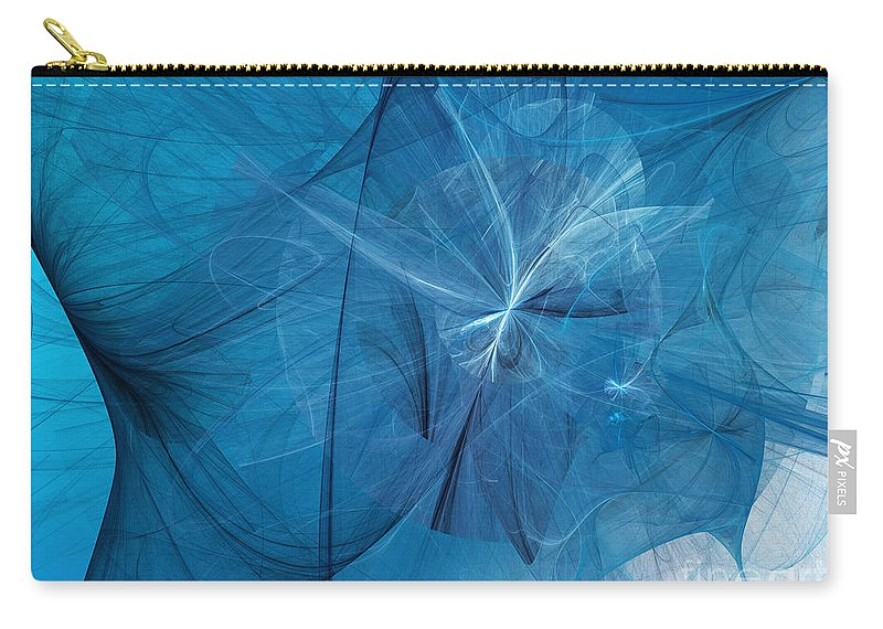 Fine Art Carry-all Pouch featuring the digital art Carmen by Andee Design