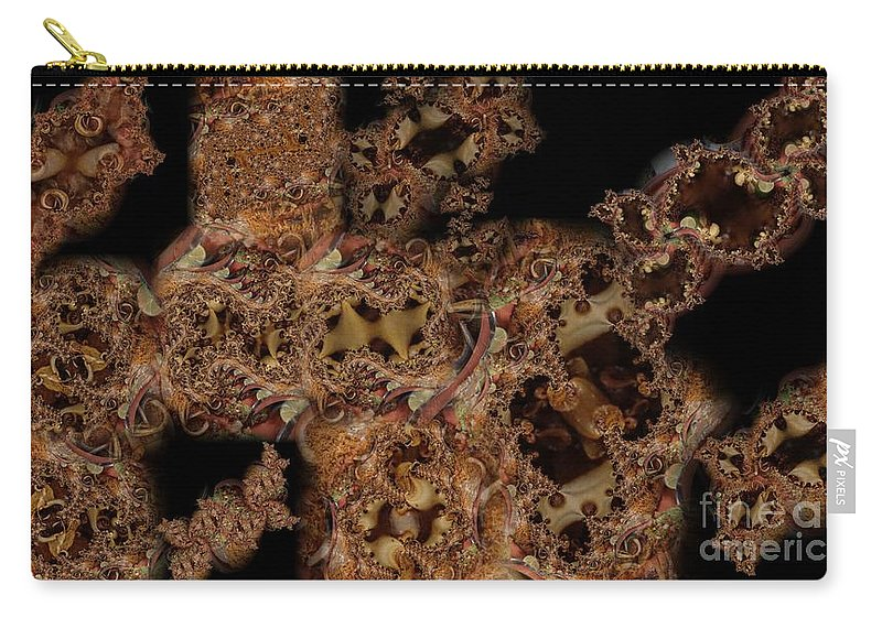 Montage Carry-all Pouch featuring the digital art Carne Asada Dos by Ron Bissett