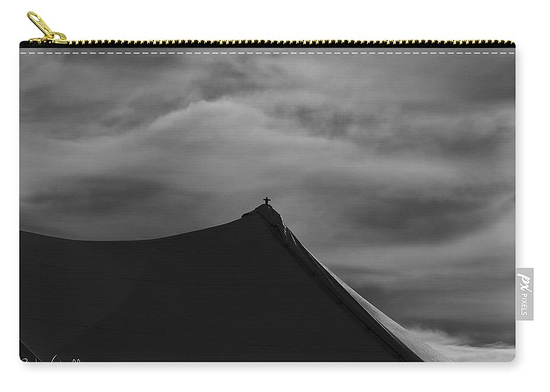 Carnival Carry-all Pouch featuring the photograph Carnival Tent by Bob Orsillo