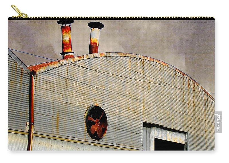 Warehouse Carry-all Pouch featuring the digital art Carolina St Goner by Lizi Beard-Ward